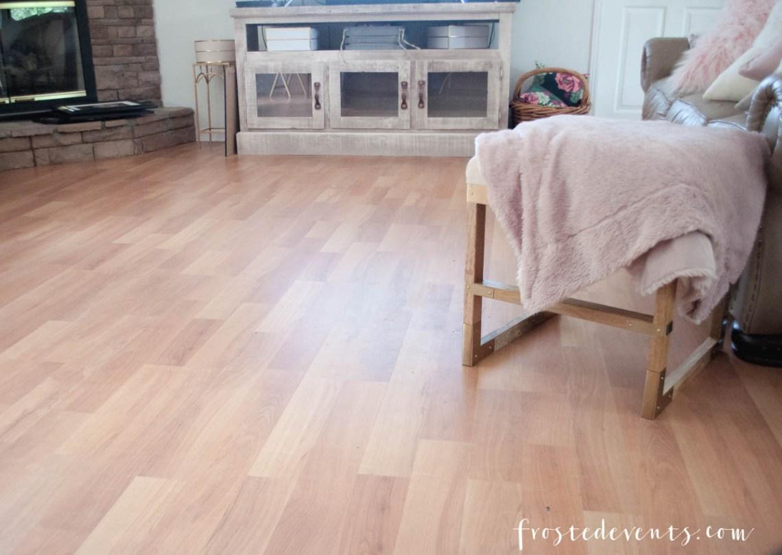 New Flooring - Vinyl Flooring Wood Floors by Tarkett - Home Design via Misty Nelson frostedblog.com @frostedevents