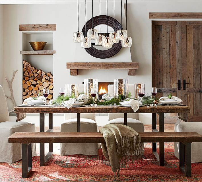 Pottery Barn Pendant Lighting - Maxfield Crystal Round - Home Decor ideas via frostedblog @frostedevents