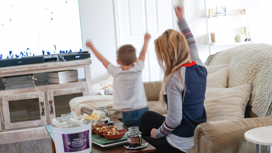 Gourmet Popcorn - Game Day Snacks by Funky Chunky via Frosted Blog @frostedevents Misty Nelson blogger & influencer - food, football, fashion and family travel