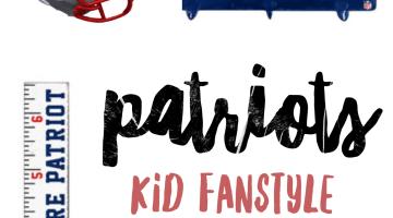 Patriots Fans - Kid Fanstyle Patriots Kids Gear via Misty Nelson, NFL Fanstyle Council Influencer