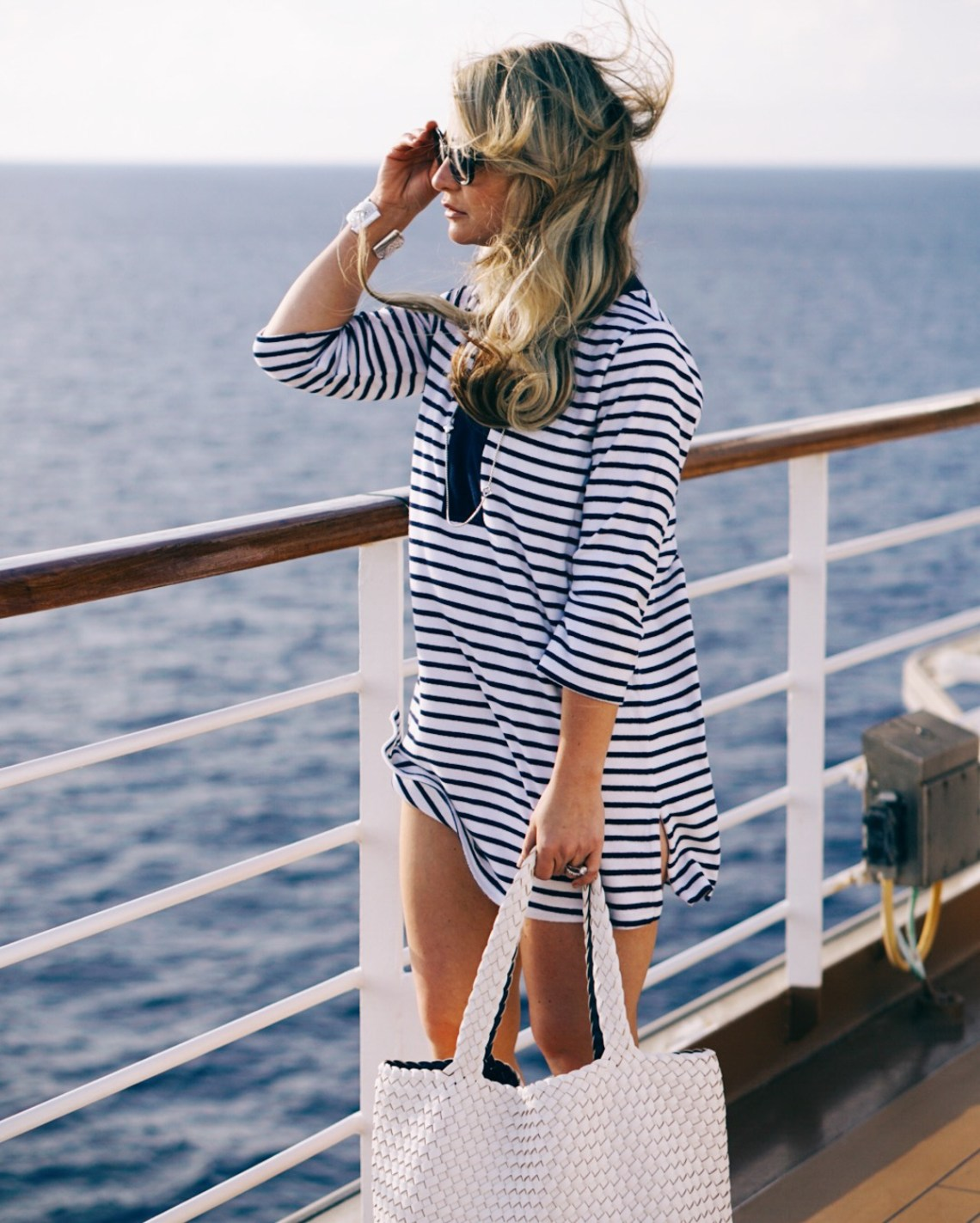 Resort Wear- My Lands End Looks from Our Holland America Cruise Vacation with Oprah Magazine - via travel blogger Misty Nelson, frostedblog