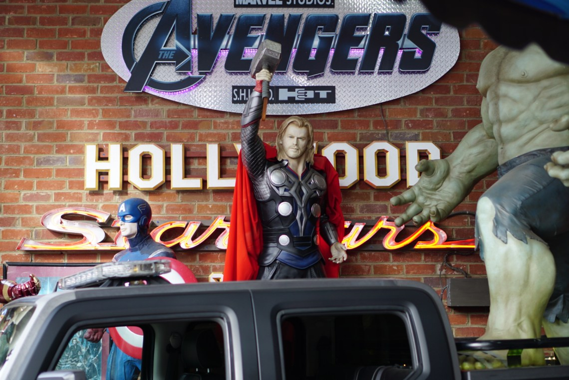 Gatlinburg TN - Visit Tennessee - Avengers - Museum of Movie Cars - Fun Things to Do in Gatlinburg, TN With Kids - Gatlinburg attractions and family friendly places via Misty Nelson travel blogger, family travel blog @frostedevents
