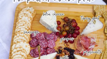 Cheese Platter Ideas - How to create the perfect meat and cheese tray for parties via Misty Nelson, frostedevents.com #entertaining #partyideas #cheese