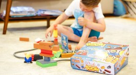 Fun Games for Kids -Family Game Night Picks - Build or Boom via Misty Nelson Frosted Blog frostedevents.com #kidsgames #toys #kidstoys