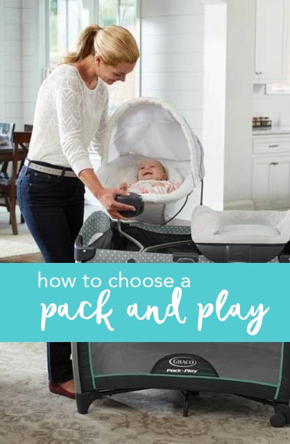 Pack and Play - Best for Baby Registry List via Misty Nelson frostedblog.com @frostedevents