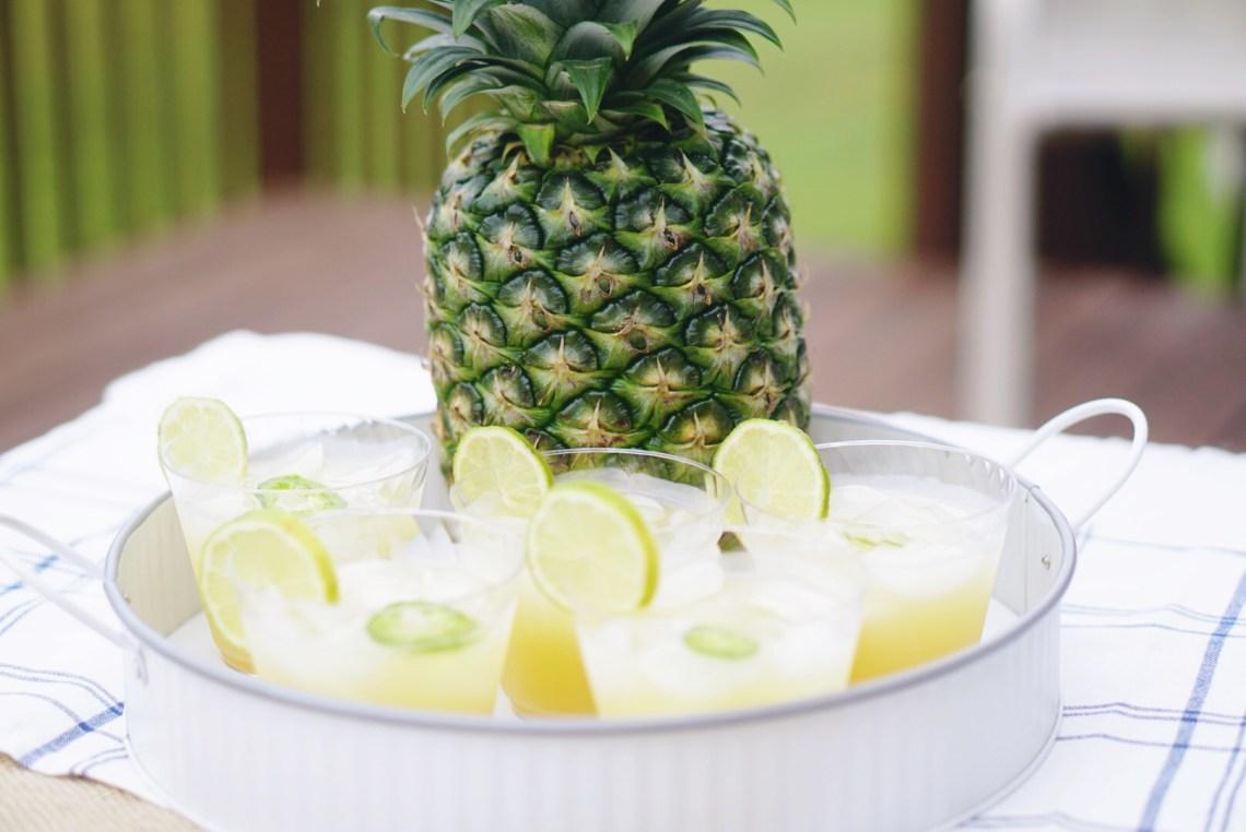 Summer Party Recipe Entertaining Ideas - Ibotta App - Sundried Tomato Pasta and Pineapple Margaritas via Misty Nelson