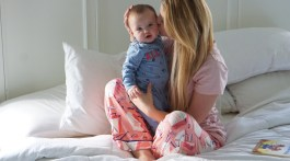 How to Sleep Like a Baby When You Have a Baby - Better Sleep Guide via Misty Nelson, mom blogger and parenting influencer