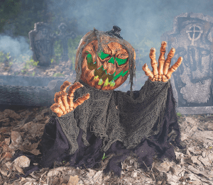 Scary Halloween Decorations - Pumpkinhead Groundbreaker