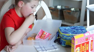 5 Easy Lunch Box Ideas for Packing Kid's School Lunches