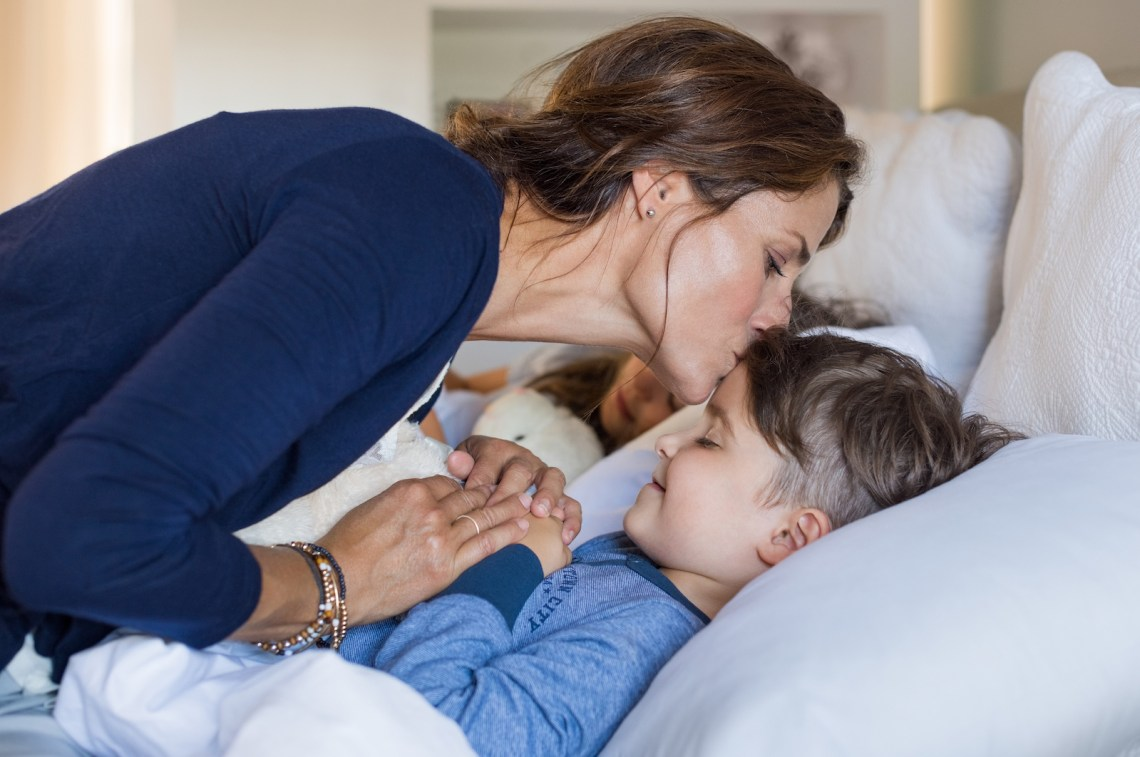 Home Remedies for Cold, Nausea, Earache, Tummy Trouble- Mom and son