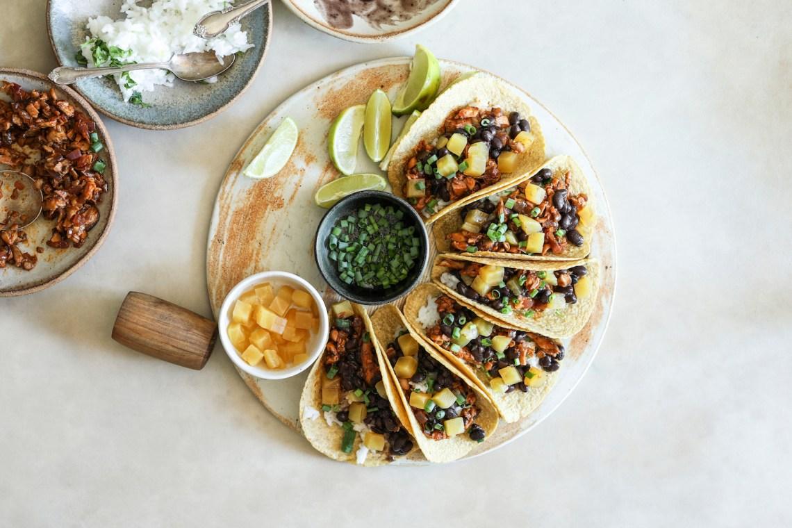 Plant Based Meals - Tacos! Vegan taco recipe