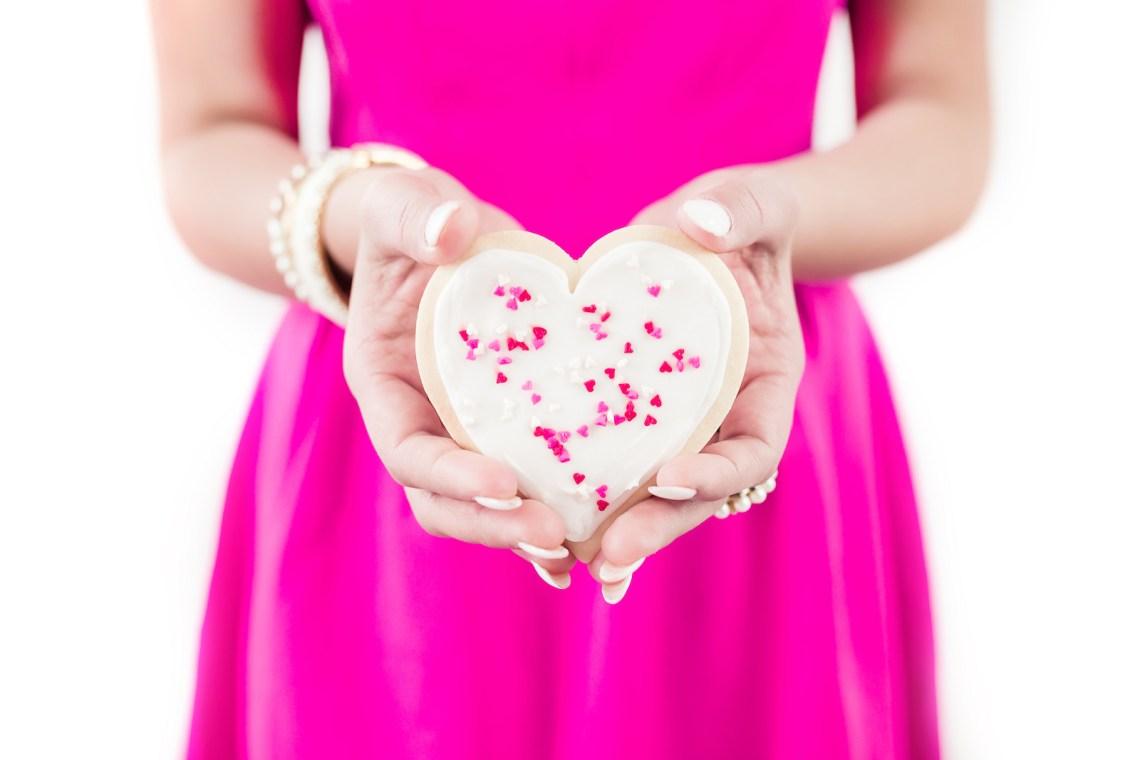 Valentines Day Treats - Heart cookies