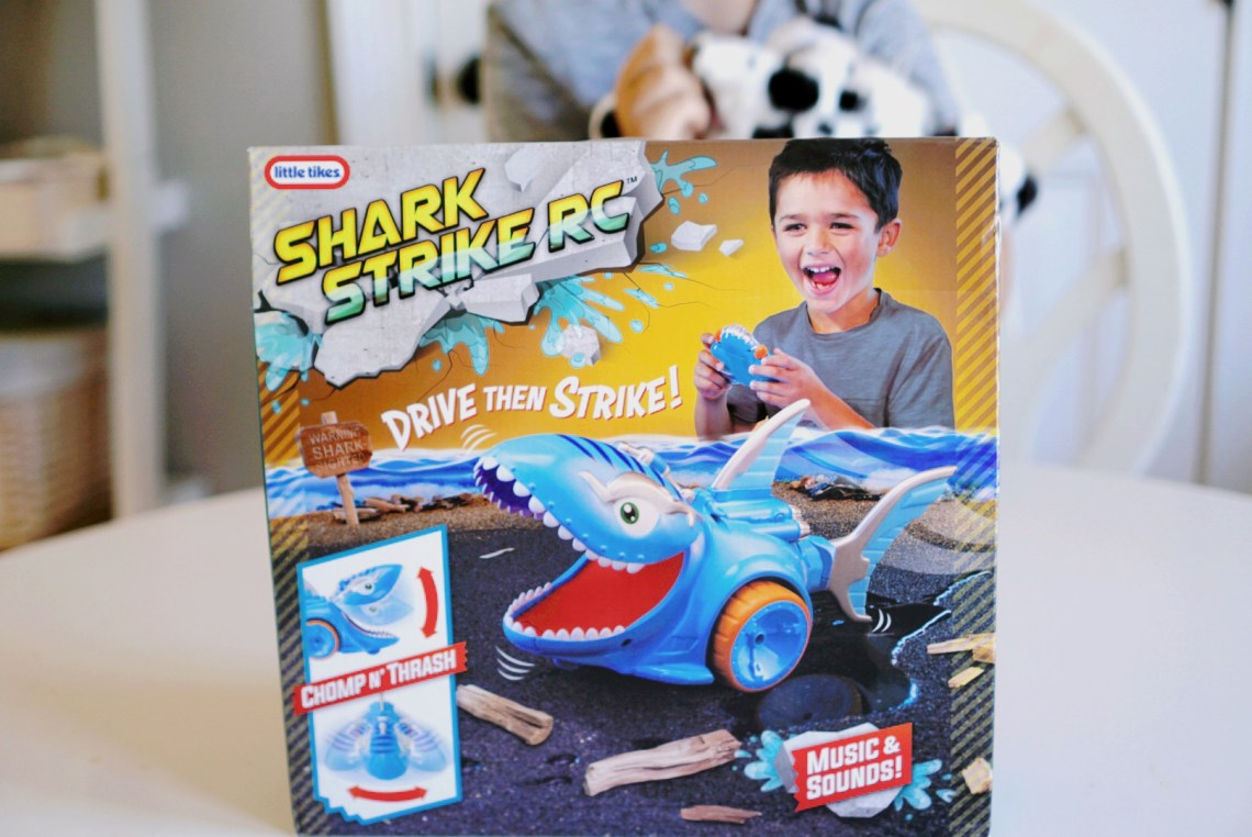 Shark Strike RC by Little Tikes - Best Toys for Boys Age 3 to 7
