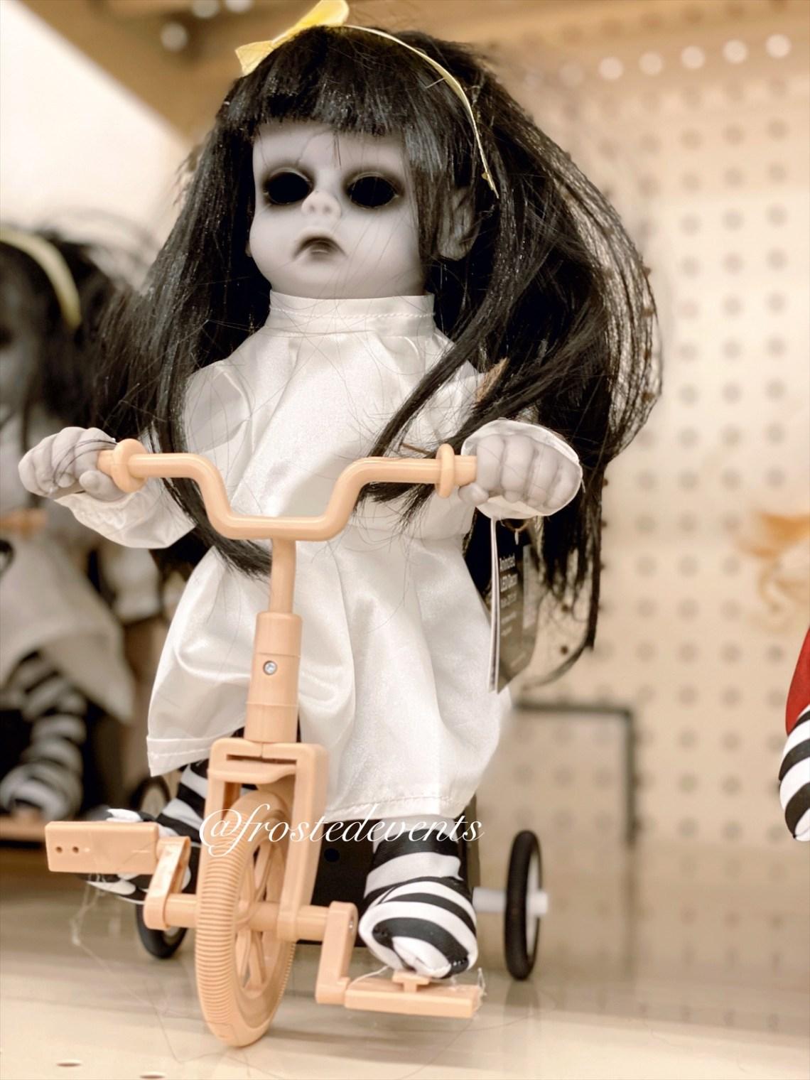 Halloween Decorations - Creepy Decor Big Lots Zombie Dolls