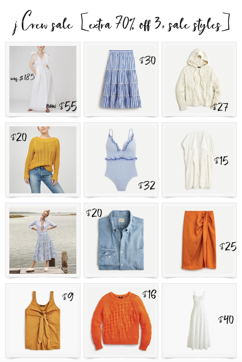 JCrew Sale August