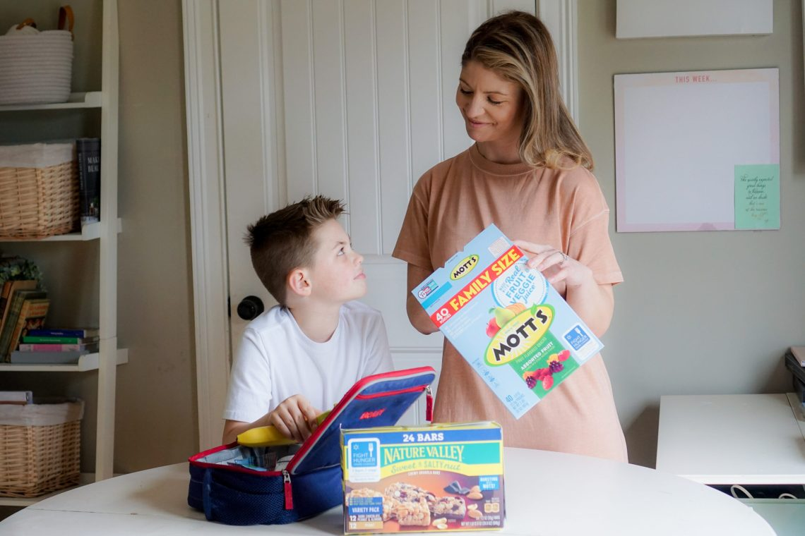 Kids lunch ideas with Misty Nelson, mom blogger and Instagram influencera