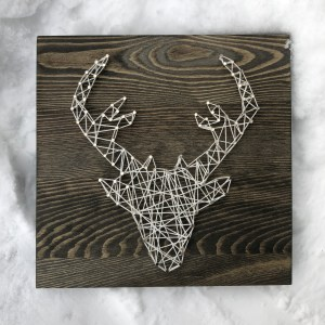 Deer String Art