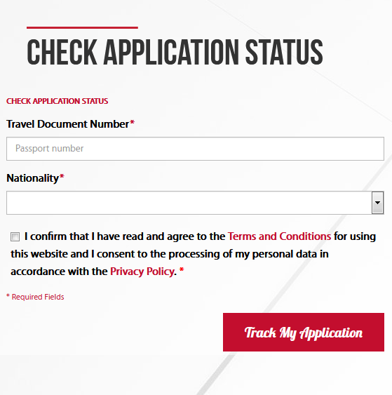 Malaysia immigration check passport number Form EMGS