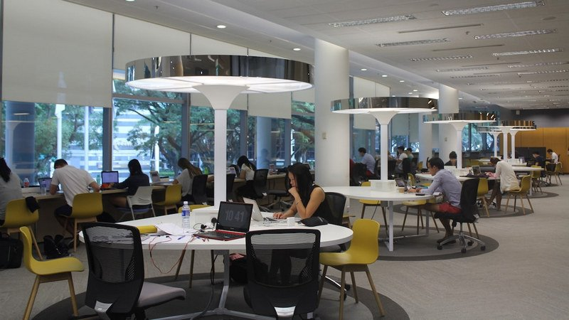 Singapore Management University Indoor Study Spot