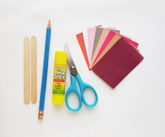 craft supplies to make gnome craft
