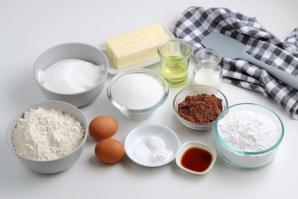 ingredients for whoopie pie cookies
