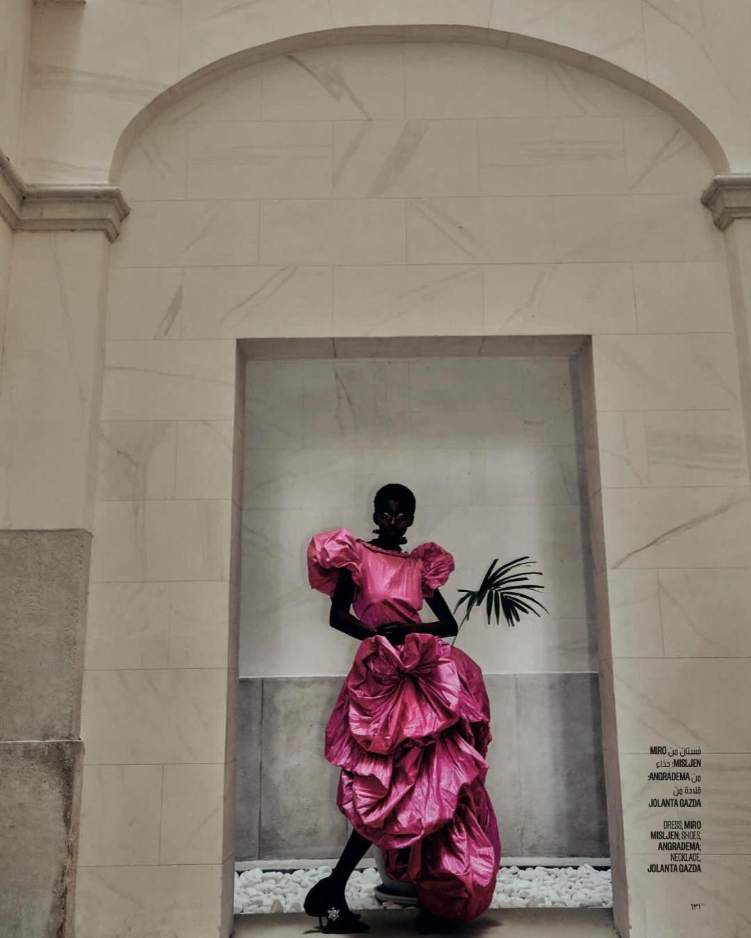 fashion editorial, vogue arabie, design