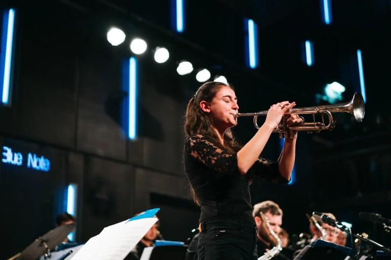 Een avond eindejaarsconcert met de Big Band