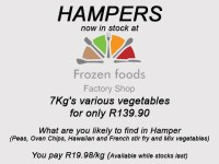 Hampers at Frozen Foods Factory Shop