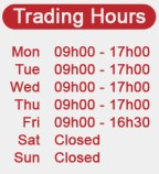 Trading hours of Frozen Foods George