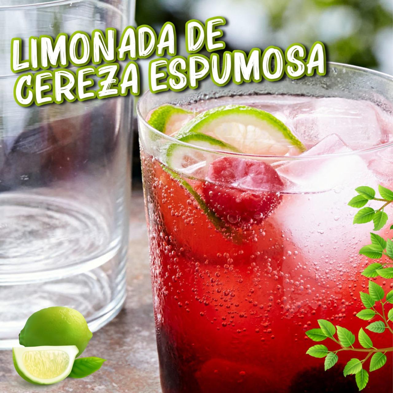 Limonada de Cereza Espumosa