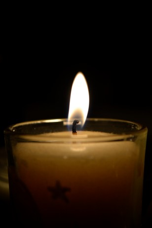 8.candle flame