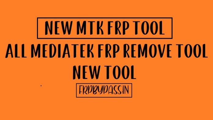 Download MTK FRP Tool - MediaTek FRP Remove [2020]