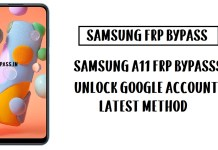 Samsung A11 FRP Bypass (Unlock SM-A115F Google Account) Android 10