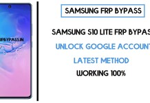 Samsung S10 Lite FRP Bypass (Unlock SM-A115F Google Account) Android 10