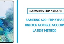 Samsung S20+ FRP Bypass (Unlock SM-G985F Google Account) Android 10