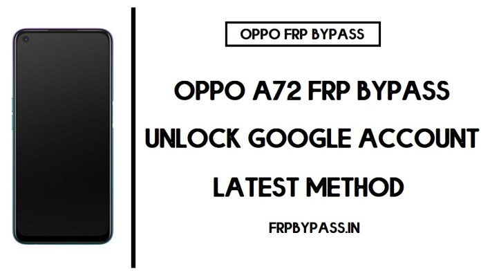 Oppo A72 FRP Bypass (Unlock CPH2067 Google Account) Android 10