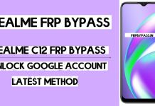 Realme C12 FRP Bypass (Unlock Google Account) Android 10 (FRP Code)