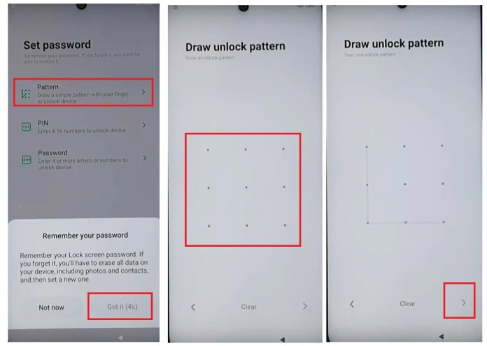 Draw Pattern to Bypass/ Unlock Redmi FRP