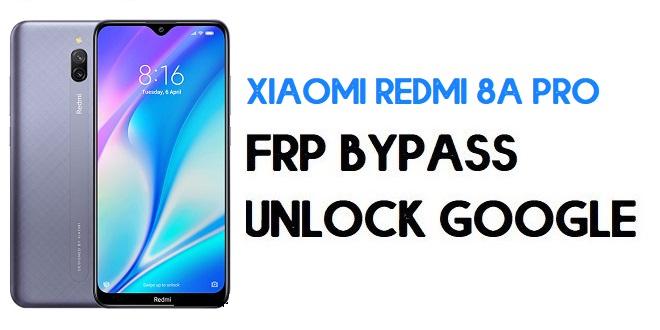 Xiaomi Redmi 8A Pro FRP Bypass   Unlock Google Verification (MIUI 12)