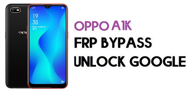 Oppo A1k (CPH1923) FRP Bypass (Unlock Google Account) Android 9