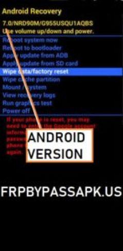 Check Bootloader version samsung