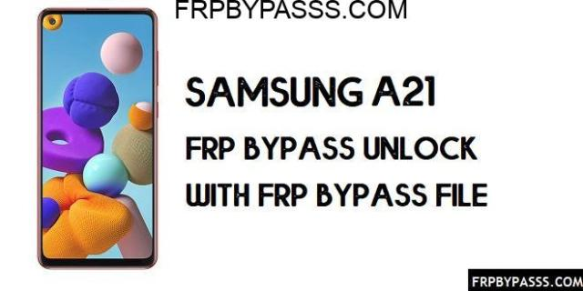 Samsung A21 (SM-A215U) FRP Bypass | FRP File (Unlock Google Account)