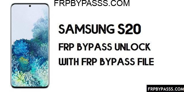 Samsung S20 (SM-G980F) FRP Bypass | FRP File (Unlock Google Account)