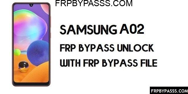 Samsung A02 FRP Bypass (Unlock Google Account)-Latest
