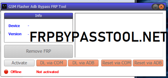 GSM Flasher ADB FRP Tool