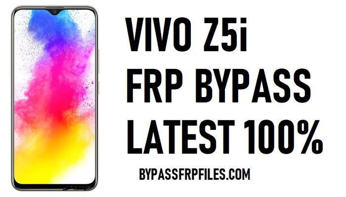 Vivo Z5i FRP Bypass - Unlock Google Account Android 9.0