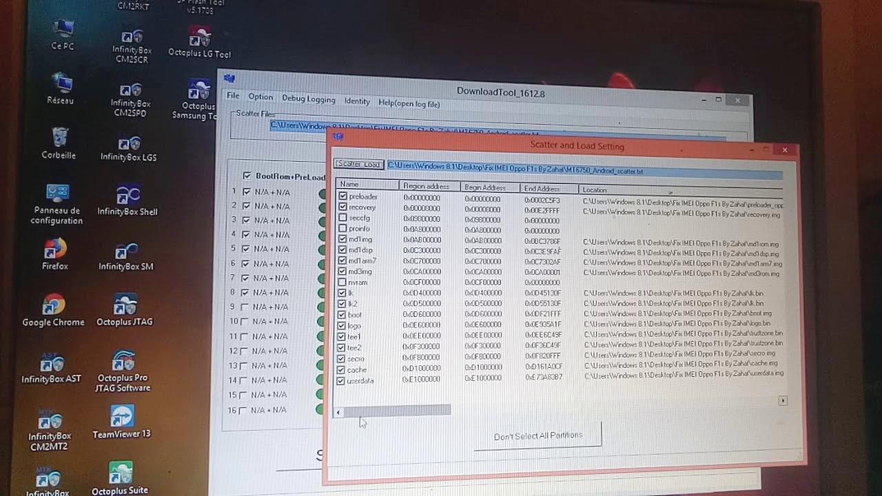 repair imei OPPO F1s MT6750 done fix error imei 1
