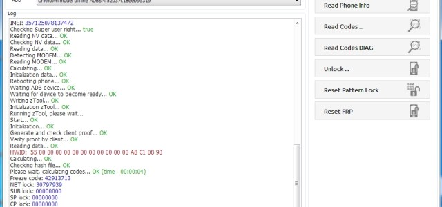 unlock J710F u4 z3x done - frp done