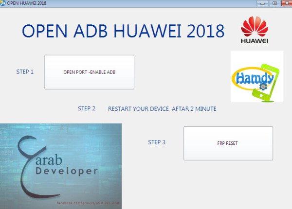 remove frp all huawei tool force enable adb all huawei 2020 tool 2