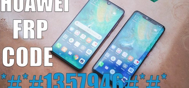 New method all huawei remove frp 2019 version 9 - frp done